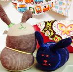 Boo Boo bunnies and other gifts created by local artisans available at The Gallery Store for under $20