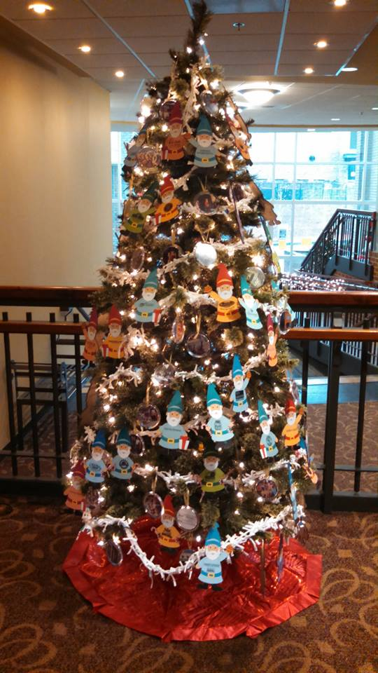 Downtown Blacksburg, Inc Christmas Tree!