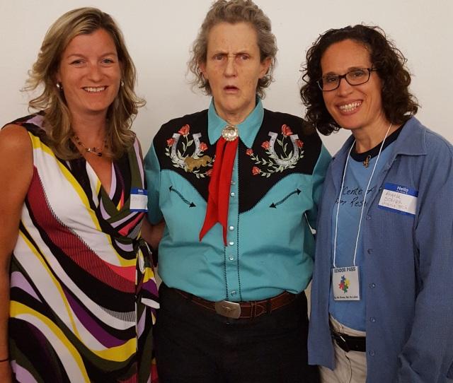 Angela Scarpa Temple Grandin Staci Carr